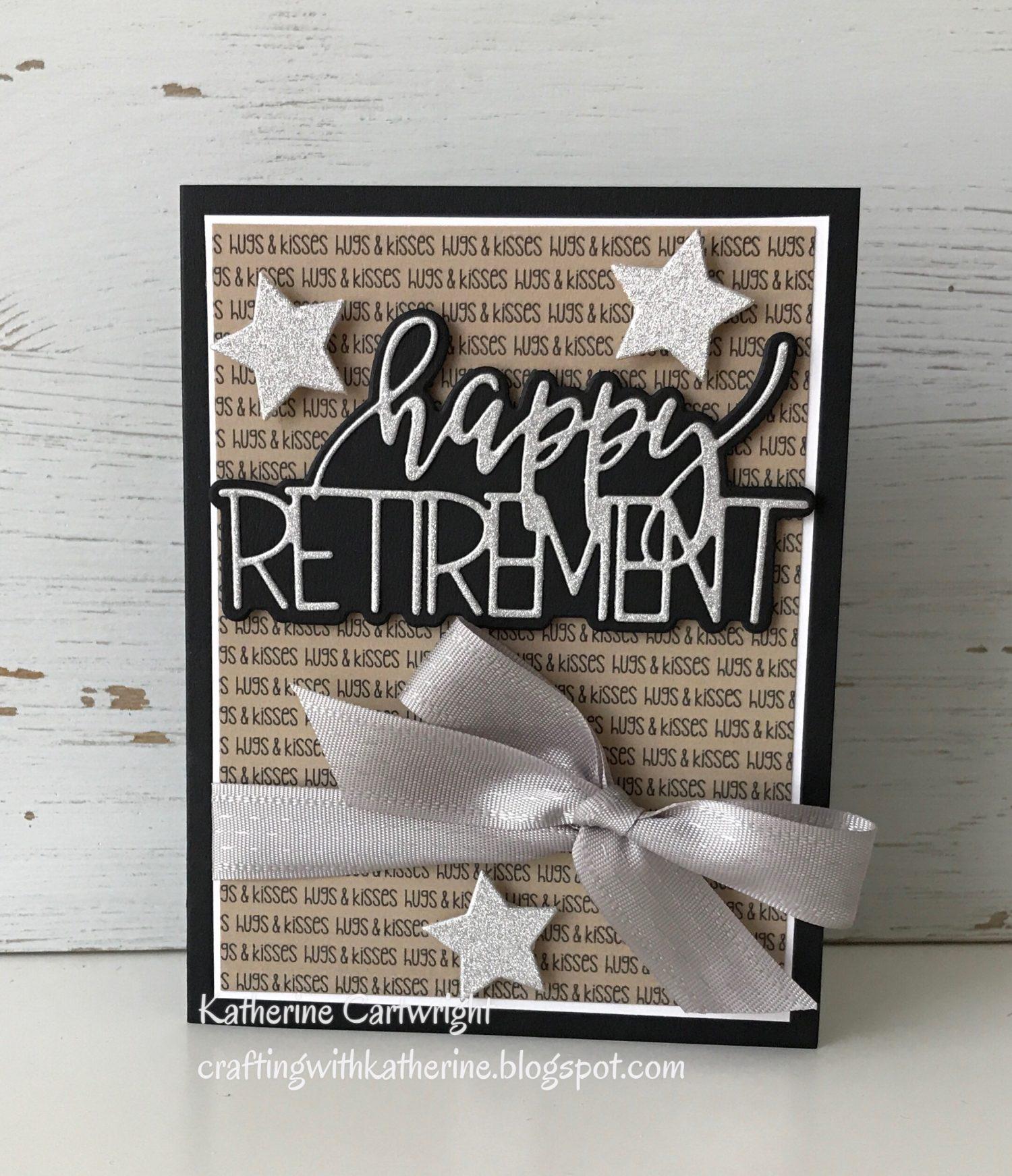 Handmade Card: Happy Retirement