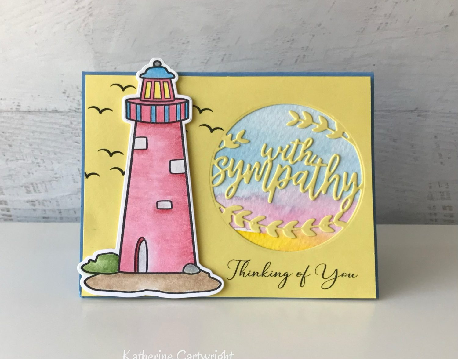 Handmade Card: Sayings4lighthouse