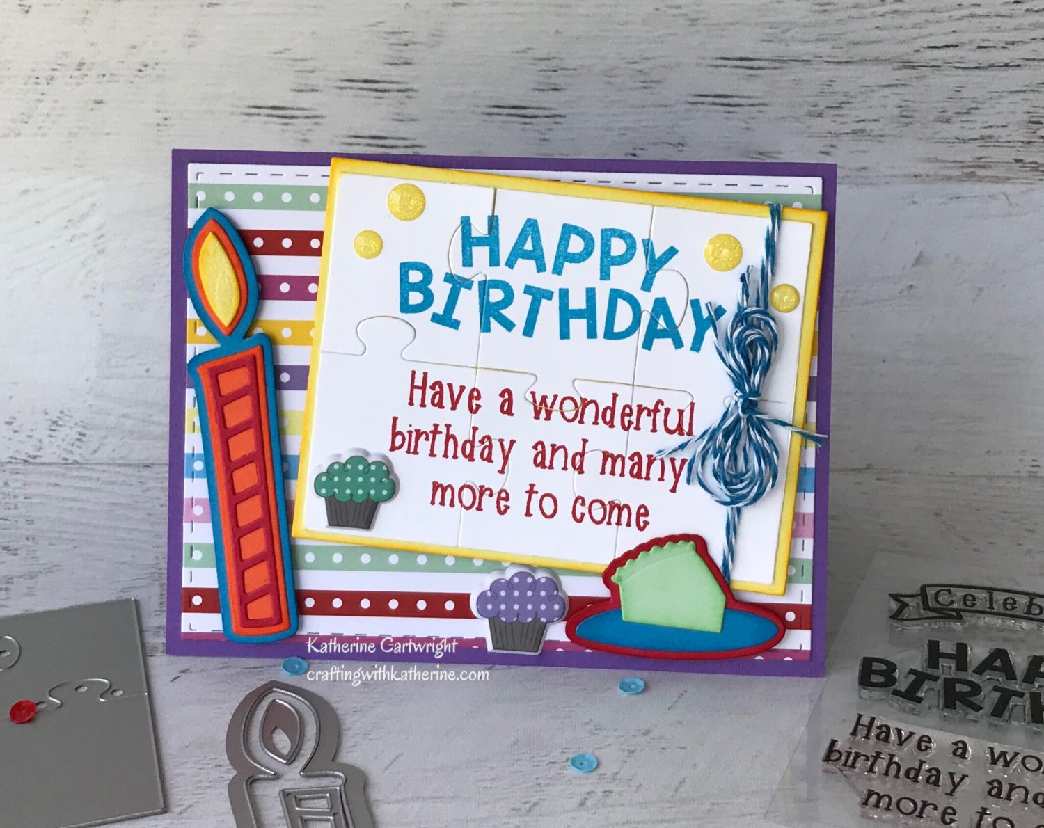 BigBoldBirthday2stamp featuring The Stamps of Life