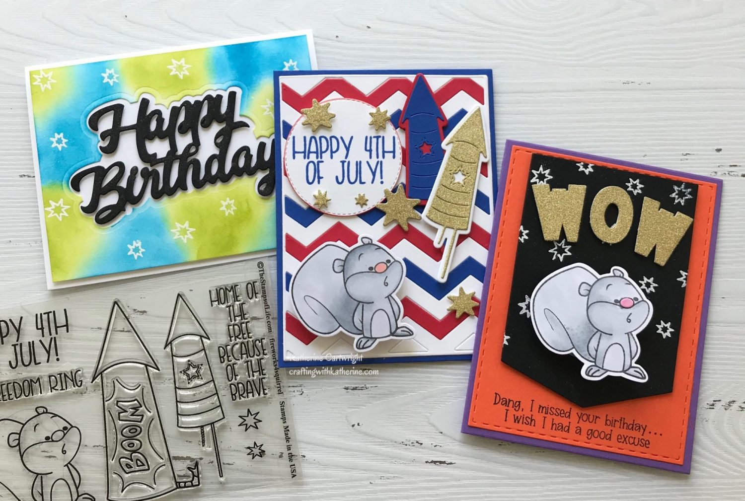 Read more about the article Fireworks4squirrel from The Stamps of Life