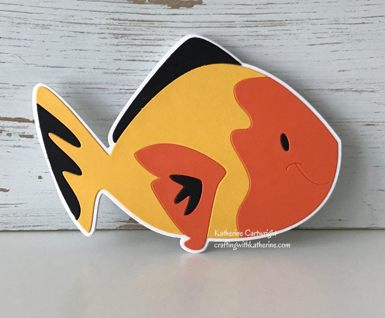 Handmade Card: Fish Fold-it