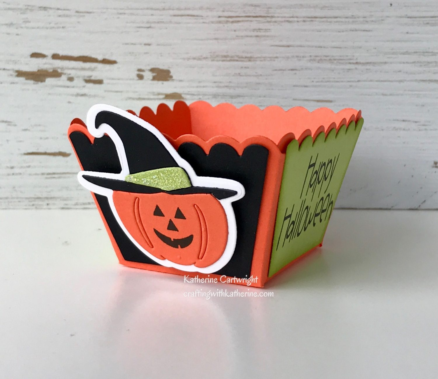 Treat Cup die from The Stamps of Life