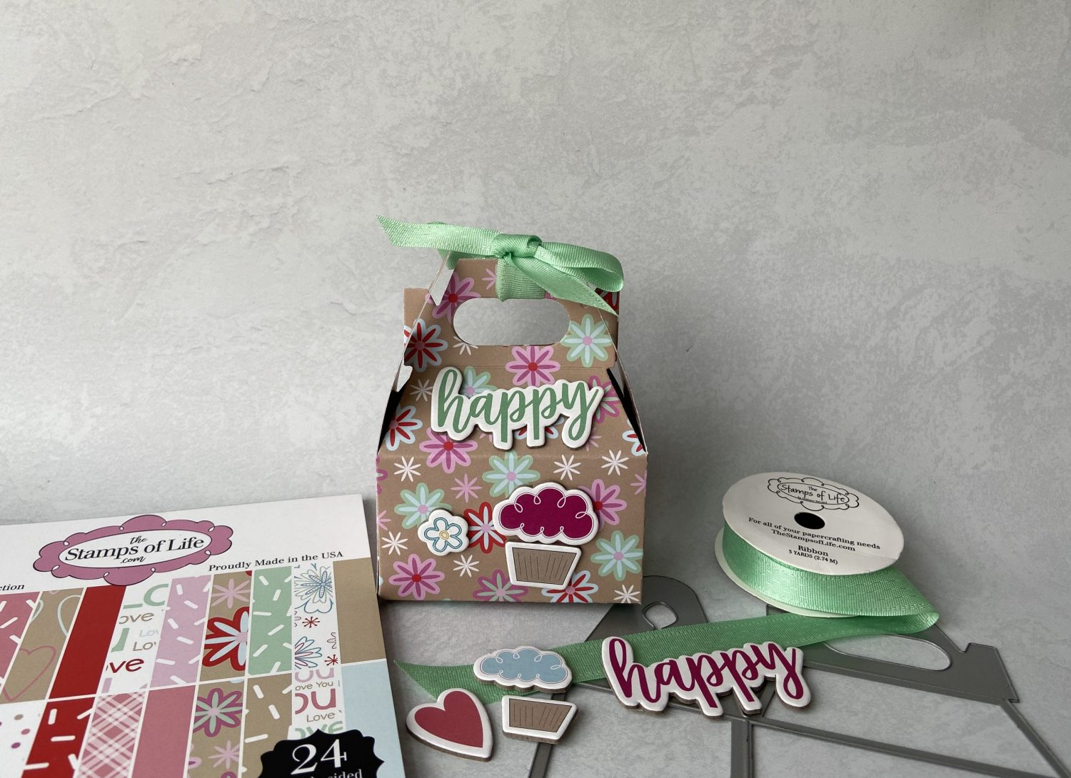 Read more about the article Handle Box featuring the December Card kit