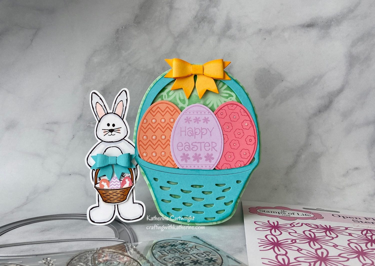 Hummingbird Online Class Easter Bunny Basket from The Stamps of Life