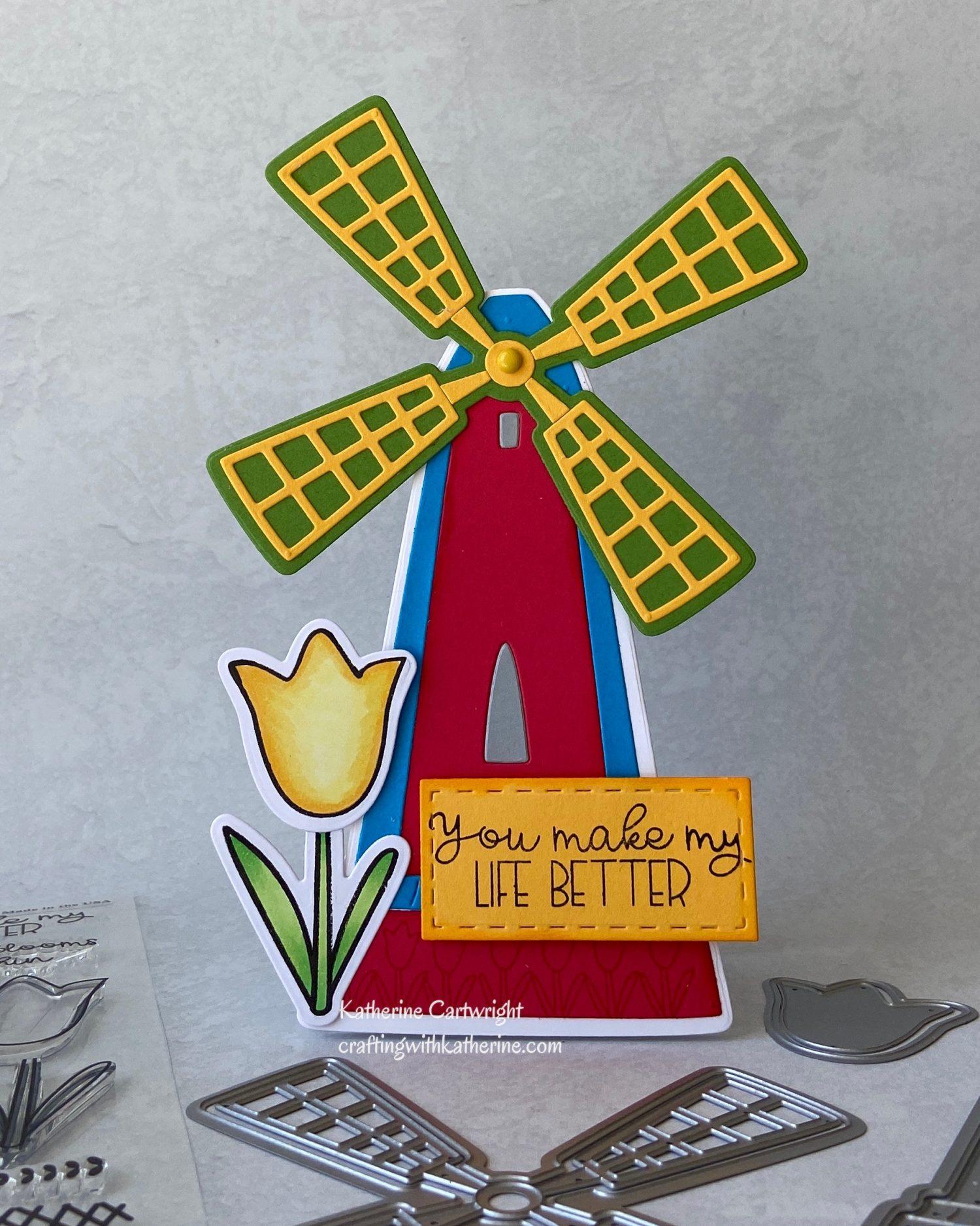 Handmade Cards: Wonderful Windmill Online Class