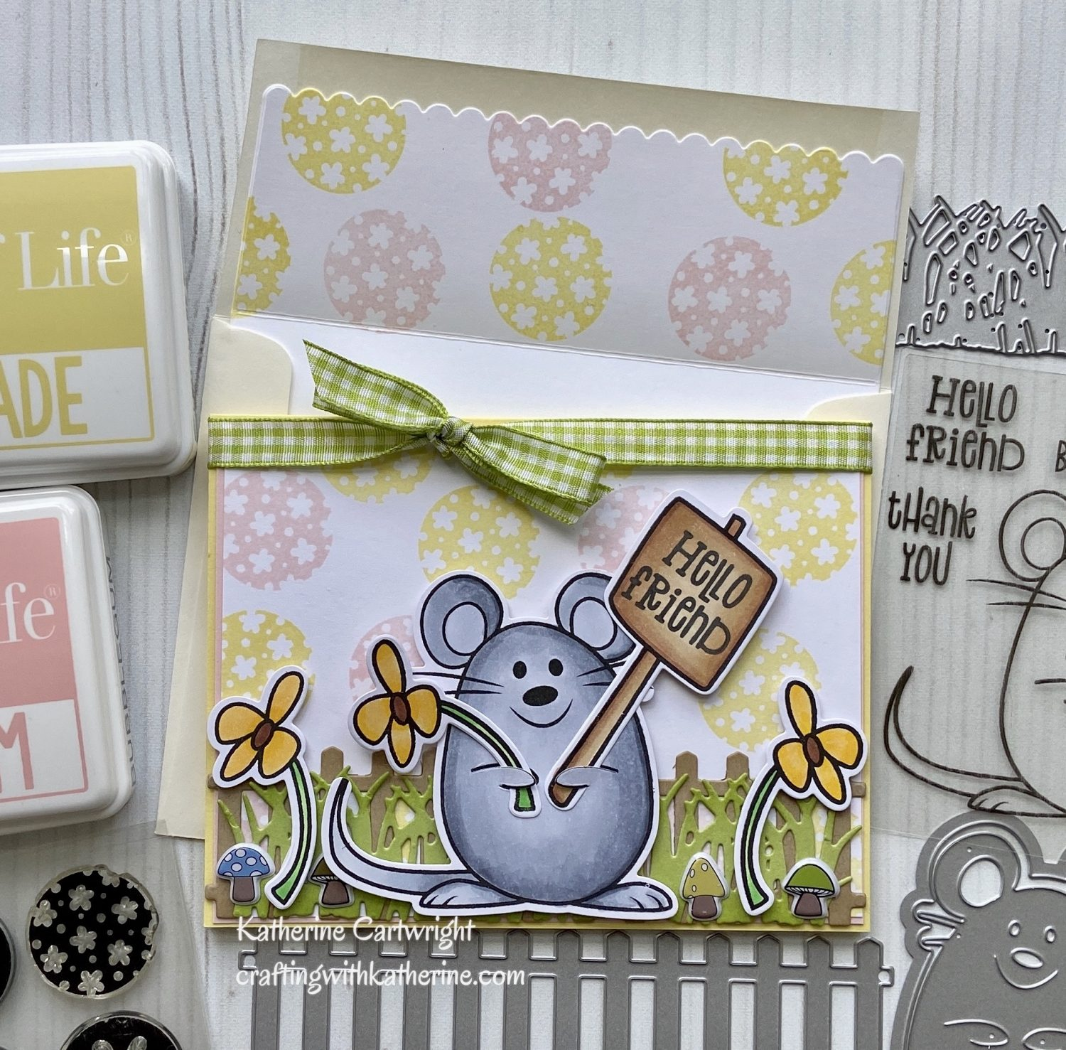 You are currently viewing Handmade Card: Sign4Mouse from The Stamps of Life