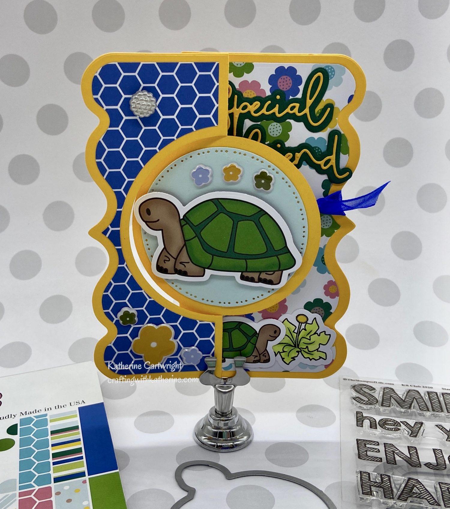 Handmade Card: Tortie2stamp
