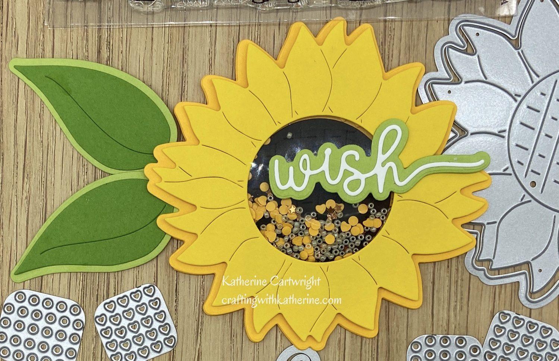 Sunflower and Picnic Basket Fold it