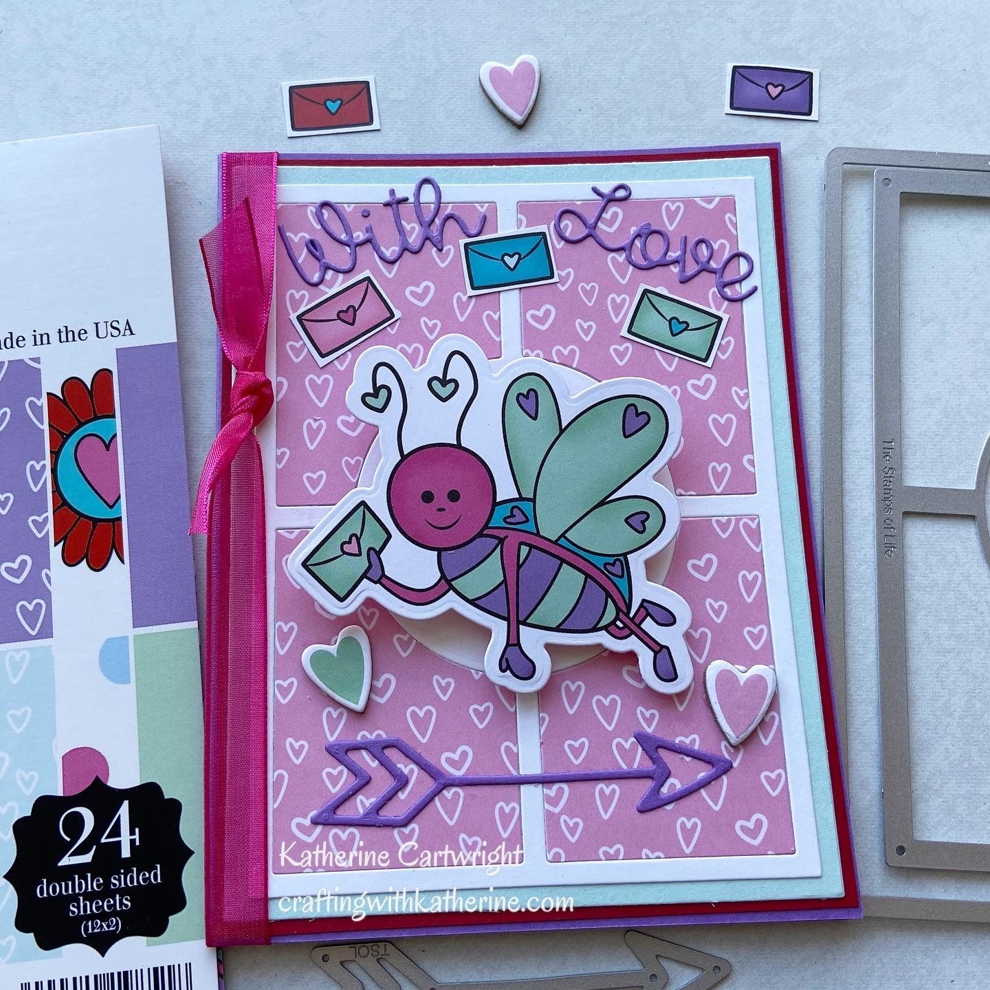 4 Projects from The Stamps of Life Card Kit – With Love