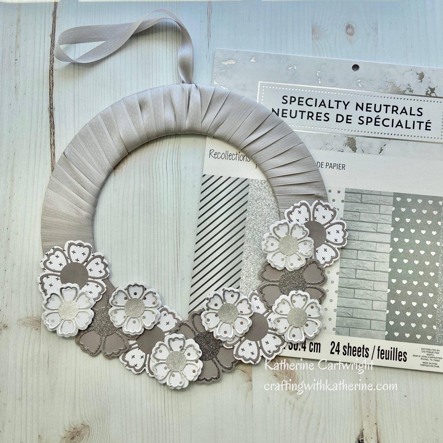 Read more about the article 3 Projects – Michaels Recollections Specialty Neutrals 12×12 Paper Pad