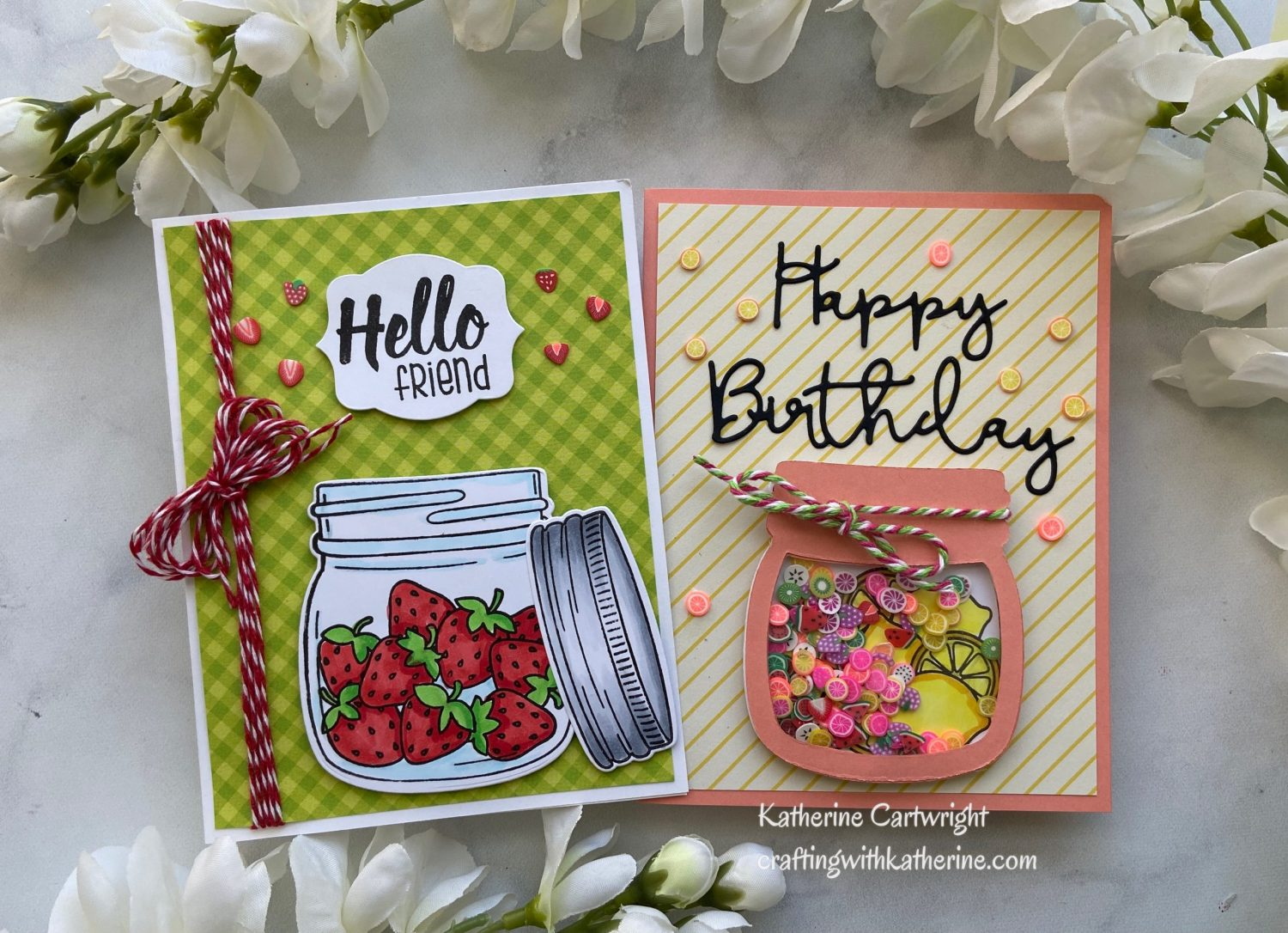 You are currently viewing Jaded Blossom Clear Jar Stamps – Summer Vibes with Strawberries and Lemons