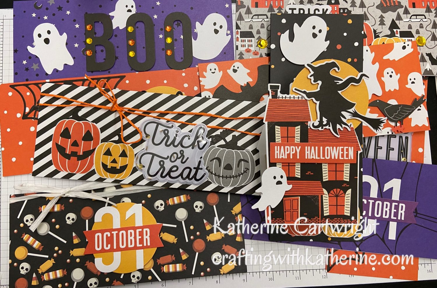 Read more about the article Quick Halloween Slimline Cards | Diamond Press Halloween Slimline Card Kit HSN