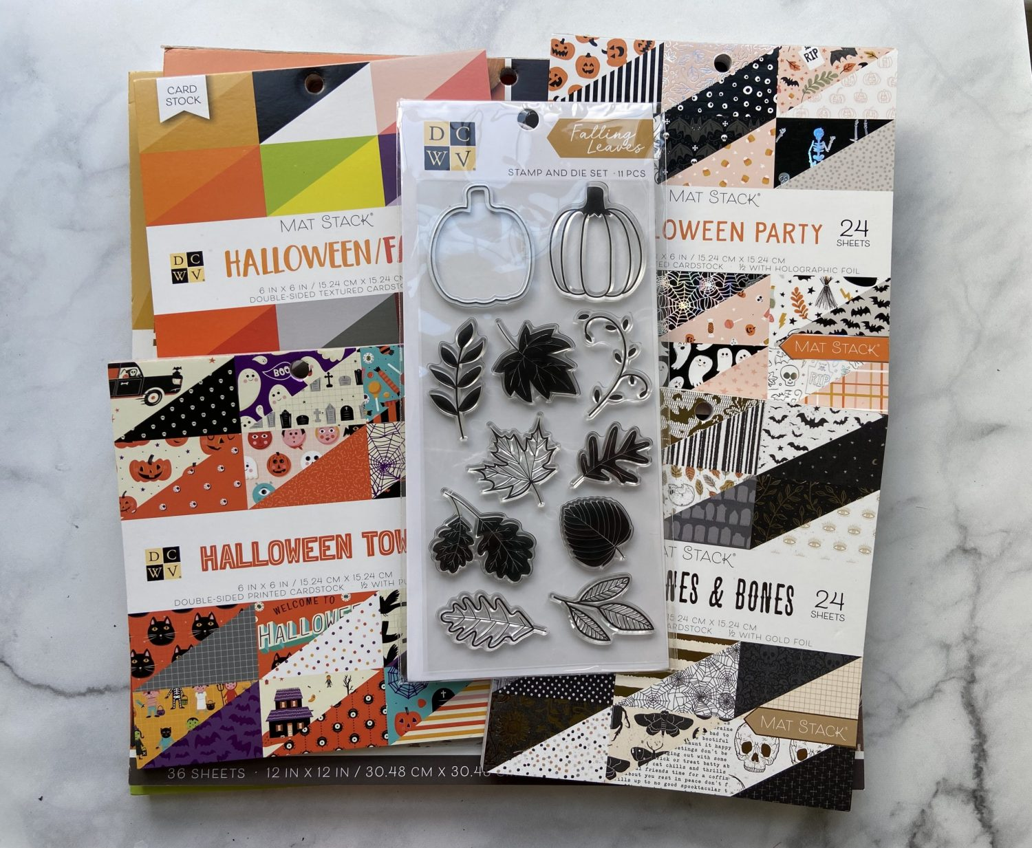 Read more about the article Fall Craft Haul – DCWV Fall and Halloween Paper pads and stamps Joann.com